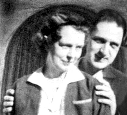 Malcolm & his wife Jean Adriel