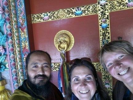 Freunde aus Indien in Nepal getroffen