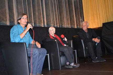 Christa Spannbauer im Gespräch mit Esther Bejarano und Rolf Becker