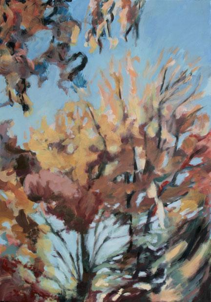 Là-haut, 2015 Acryl auf Leinwand 115x80