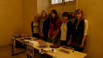 Rencontre avec les anciens élèves de Marceau 3 décembre 2011