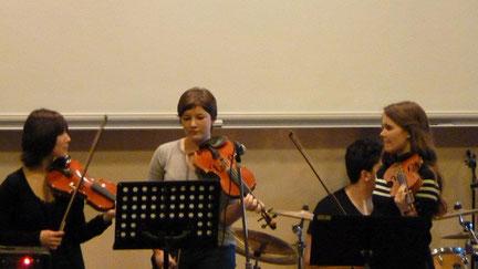 Concert à l'amphithéâtre 13 décembre 2011