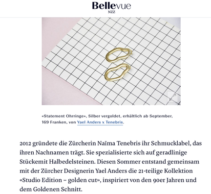 Yael Anders in Bellevue by NZZ