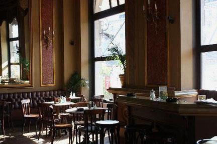 68-bevægelsens mødested 'Café Savoy' i Wien