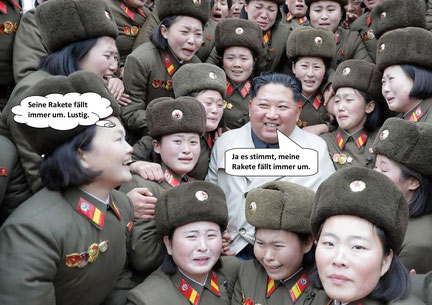 Kim Jong Uns Rakete startet nicht.