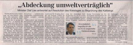 Quelle: Cellesche Zeitung, 08.09.2016