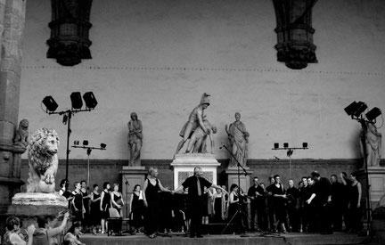 cantus felix,Festival des choeurs de toscane,italie, firenze,les foulées de la rue,joel vancraeynest
