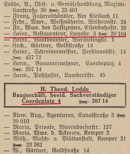 Einwohnerbuch 1930