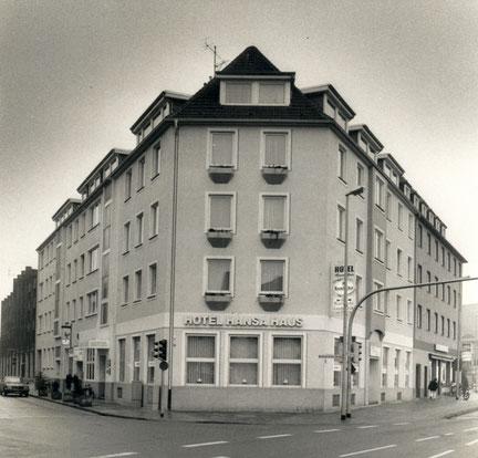 Das Hansa-Haus in den 1990er Jahren