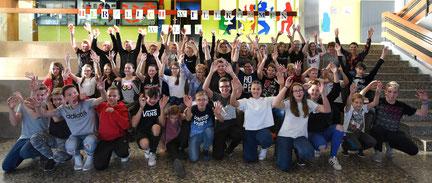 Berger Schüler waren im Juni 2018 zu Gast in Walce -  Gegenbesuch der Schüler aus Walce im Oktober 2018 in Berg