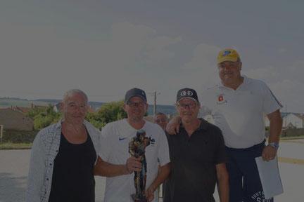 De gauche à droite : Alain Souchet, Michael Grandpierre et Yannick Chardonnier.