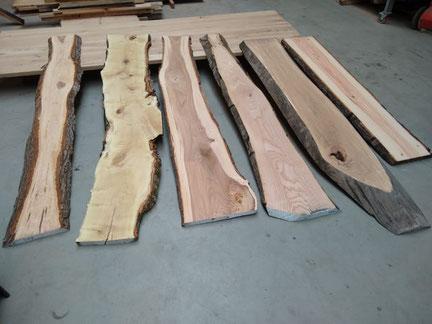 fijnhout geschaafd en gedroogd