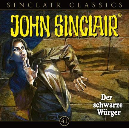 CD-Cover John Sinclair Classics - Folge 41 - Der schwarze Würger