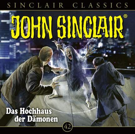 CD-Cover John Sinclair Classics - Folge 42 - Das Hochhaus der Dämonen