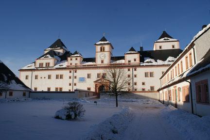Schloss Augustusburg in seiner Winterpracht