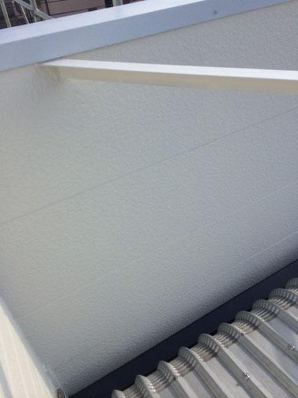 熊本市〇様事務所の外壁塗装を関西ペイント・防カビ防藻・高耐久塗料にて仕上げました。クリーム色。