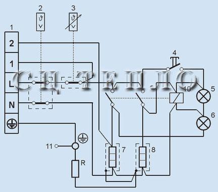 Электрическая схема водонагревателя Татрамат EO 30 -150/220