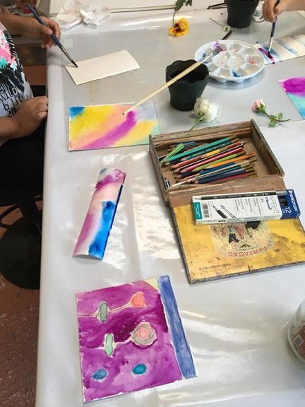 Atelier Martineh cours et stages peinture sculpture adultes et enfants aix en Provence