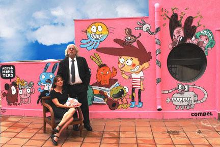 """Jaume Copons i Liliana Fortuny, autors de """"L'Agus i els monstres"""""""