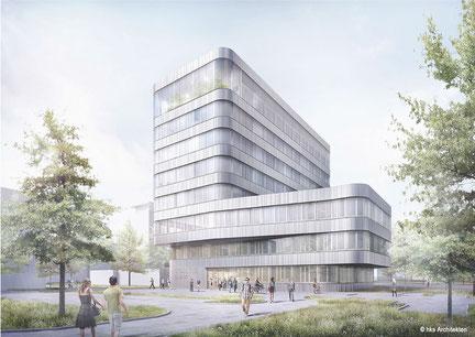 Forschungsgebäude UFZ Campus Leipzig