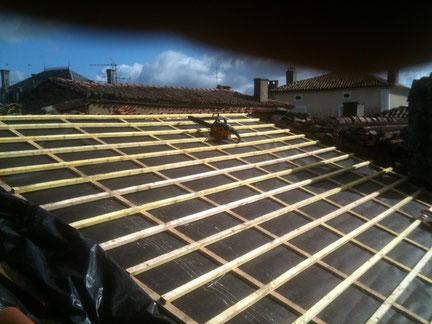 Couverture : ecran de sous-toiture pour la couverture en tuiles Canal