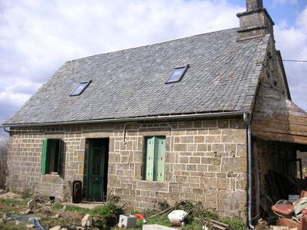 Couverture : pose de fenetres de toit encastrées de la marque Velux