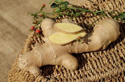 Le gingembre a bien des vertus