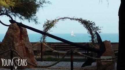 """Scorcio dei """"giardini sul mare"""" - Trani"""