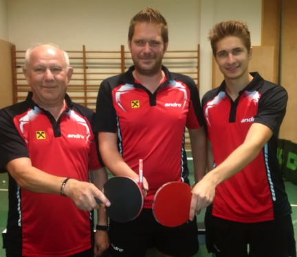 Sierndorf/4 mit Erwin Kohl, Stefan Kohl und Johannes Seidl beenden als Meister der 2. Klasse Ost die Saison!