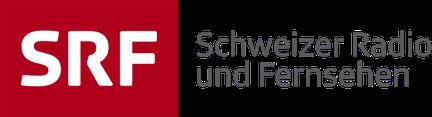 logo SRF avec le lien  vers l'émission radiophonique