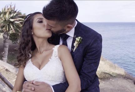 servizi video spot promozionali pubblicità cagliari sardegna  matrimonio sposa cerimonia chiesa preparazione cerimonia sposa fedi nuziali