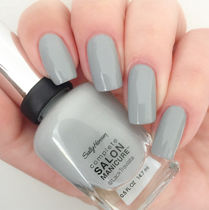 Swatch Sally Hansen Highgray to Heaven