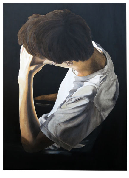 O.T.  * Öl auf Baumwollgewebe * 80 x 110 cm * 2015