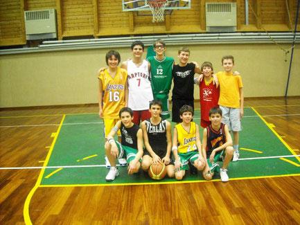Under 14 stagione 2006/2007: festa di fine stagione