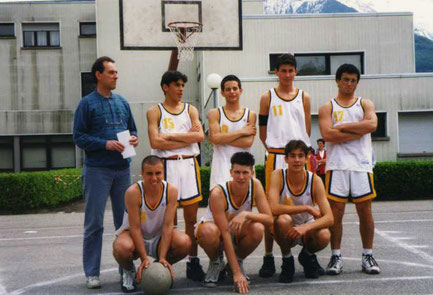 Under 16 stagione 1995/1996: torneo estivo a Aiguebelles (F)