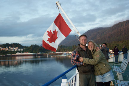 Ferry to Haida Gwaii