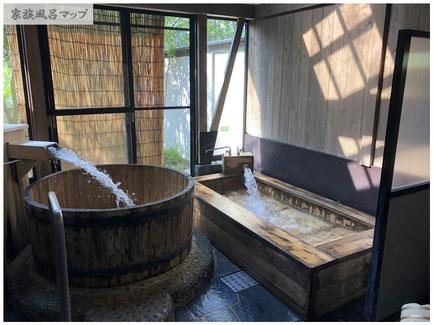 脇田温泉 楠水閣家族風呂