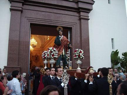 El San Juan de Fusionada en su procesión de mayo de 2006