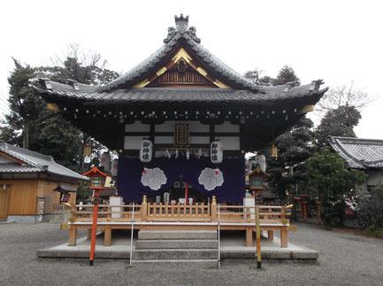 伊砂砂神社拝殿