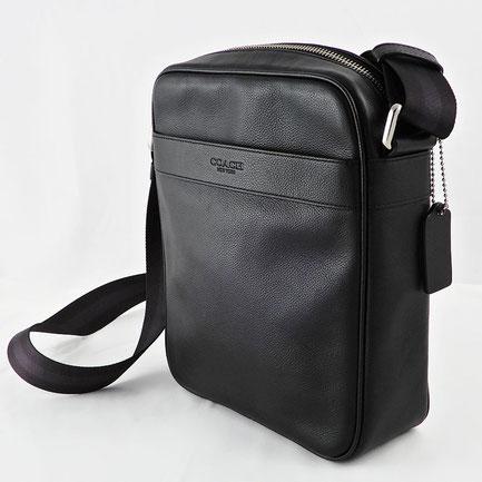 コーチ COACH スムースレザー フライトバッグ【F54782】