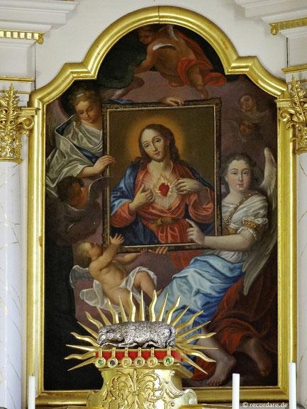 Gnadenbild Herz Jesu, Velburg