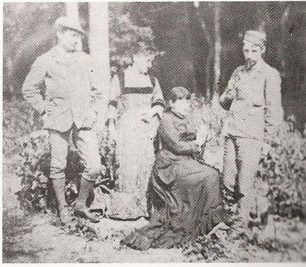 Fanny et R.L.Stevenson à Grez sur Loing