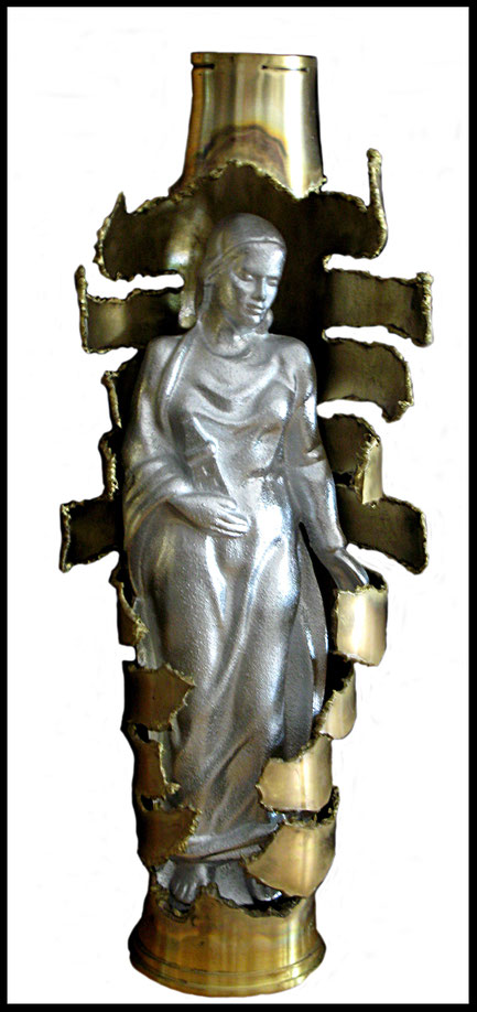 Die heilige Barbara des Artilleristenbundes Salzburg        - Foto: E. Sebela