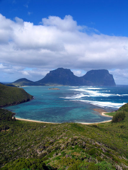 Lord Howe Island. Photograph copyright by Graham Howard (c) 2014