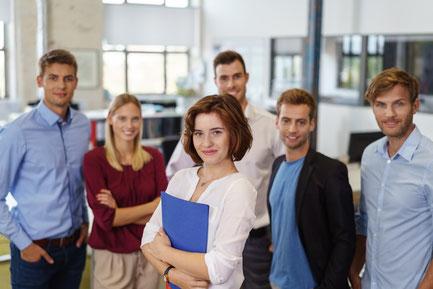 Studenten und Auszubildende