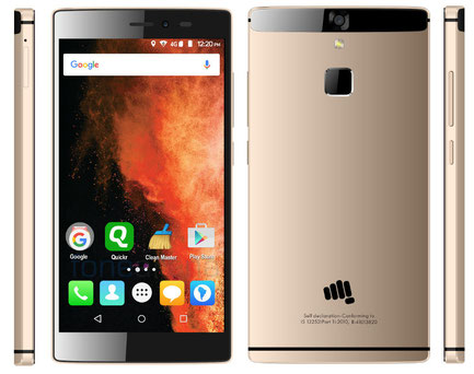 Micromax Canvas 6 with metal body