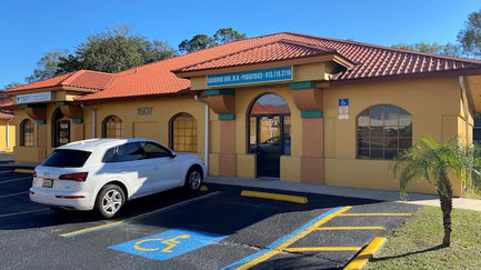 Building front of Dr. Bou Pediatrics in Plant City, FL