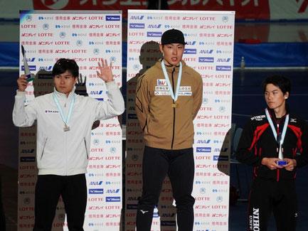 全日本距離別選手権大会 表彰式