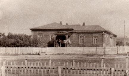 Сосновская школа. 60-е годы.