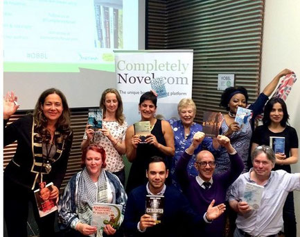One Big Book Launch winners  Photo c. Jacqui Lofthouse